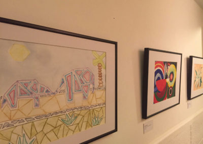 Artlift exhibition at Cinderford